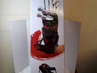 left Handed Nitro Blaster Pro Complete Golf Set Uniflex