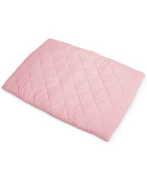 Graco Quilted pack  n Play Playard Sheet   Pink
