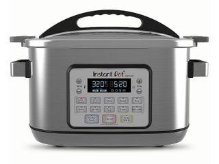 Instant Pot Aura Pro 8 qt  Multicooker  Silver