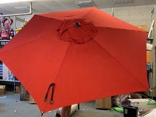 Abba Patio Red Umbrella