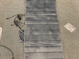 Memory Foam Massage Mat With Heat
