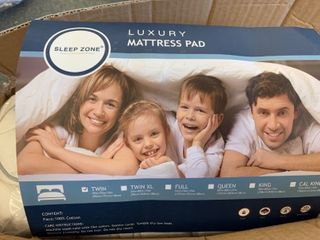 Sleep Zone luxury Mattress Pad   TWIN