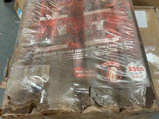 Jealous Devil Blox Hickory Compressed Natural Hardwood Fire Wood Pack  12 logs