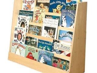 Single Sided Book Display Wood   ECR4Kids