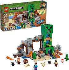 lego Minecraft The Creeper Mine  21155  Building Kit 834 Pcs