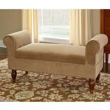 Copper Grove Rushbrook Classic light Brown Microfiber Bench  Retail 209 99 coffee