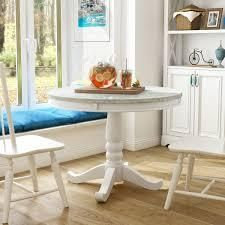 Furniture of America Ten Country White 42 inch Round Dining Table  Retail 474 52