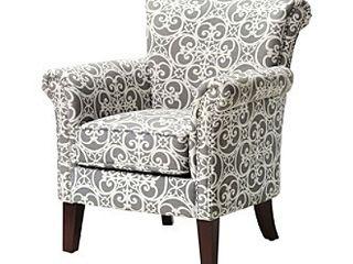 Madison Park Miri Tight Back Club Chair  Retail 308 49