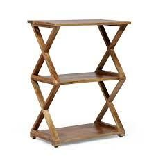 Choctaw Handcrafted Boho Mango Wood 3 Shelf Side Table by Christopher Knight Home  Retail 123 99 natural