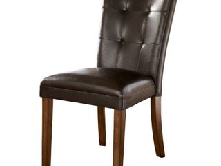 lacey Dining Room Chair   Set of 2   Medium Brown   N A  Retail 158 99