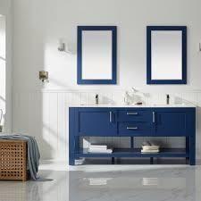 the grayson pennington farmhouse brown bath vanity only