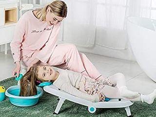 Kids Hair Washing Chair Bather  Children Shampoo Chair Bath Seat