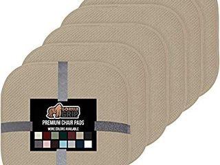 Gorilla Grip Original Premium Memory Foam Chair Cushions