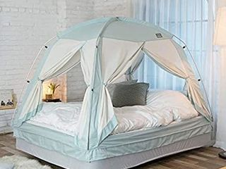 DDASUMI Fabric Cotton Feeling  Signature Indoor Tent  Double Bed  Mint    4Doors  Prevent Coldness  Play Tent