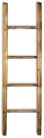 Fifth   Nest Blanket ladder Shelf Rustic Farmhouse Home Decor Wooden 5 Foot to Display Blankets