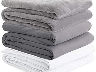 Degrees Of Comfort Weighted Blanket Queen Size for Adults 80x87 22lbs