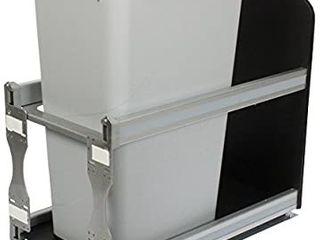 Knape   Vogt USC12 1 50PT In Cabinet Soft Close Pull Out Trash Can
