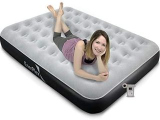 EnerPlex Never leak Camping Series Queen Camping Airbed with High Speed Pump