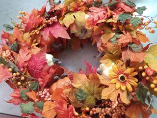Autumn Harvest Fall Wreath
