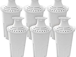 Pack of 6 Water Replacement Filters