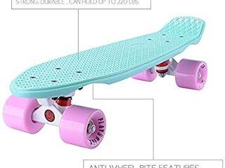 Playshion Complete 22 Inch Mini Skateboard