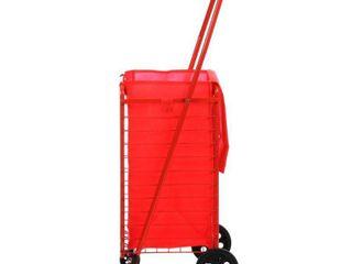 Sandusky FSC3012 Folding Shopping Cart  66 lbs Capacity