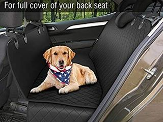 Dog Back Seat Cover Protector Waterproof Scratchproof Nonslip Hammock for Dogs Backseat Protection Against Dirt and Pet Fur Durable Pets Seat Covers for Cars   SUVs