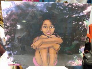 African American Wall canvas art 20 X16