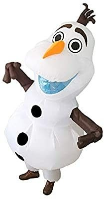 UBCM Olaf Costume Inflatable Costume Fancy Party Dress Birthday Outfit Adult Size Costume