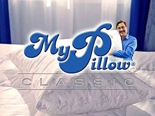 MyPillow Classic Standard Queen  Medium Single