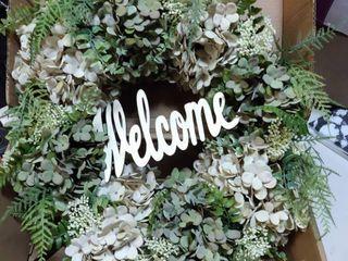 Hydrangea Wreath for front door 16