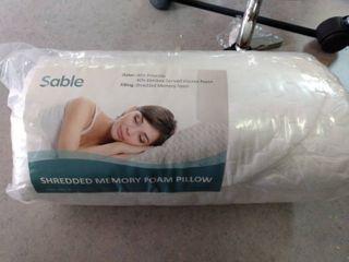 Sable Shredded Memory Foam Pillow