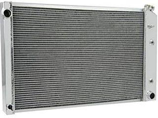 OzCoolingParts 3 Row Core Aluminum Radiator for 1973 1991 74 75 76 77 78 79 89 GMC Chevy C K P R V Series C10 C20 C30 K10 K20 K30 C25 C2500 Pickup  K25 K2500 Suburban Pickup Trucks and More Models  V8
