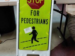 brady Pedestrian and crosswalk sign  40