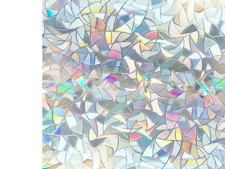 COTTON COlORS 35 4 in  x 78 7 in  Decorative and Privacy 3D Window Film