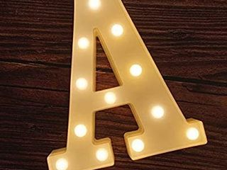 lED Marquee letter lights HAPPY BIRTHDAY
