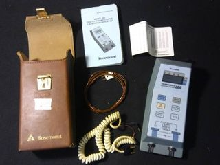 Rosemount 266 Thermocouple Testing Kit