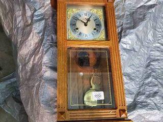 Grandfather Wall Hanging Clock