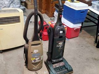 Hoover Upright Vacuum and Upright Dirt Devil Vacuum