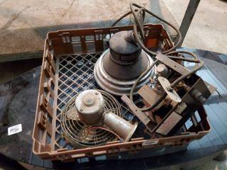 Propane heater and Fan