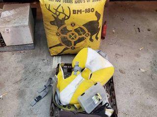 Deer Target   life Vest and Other Outdoor Supplies