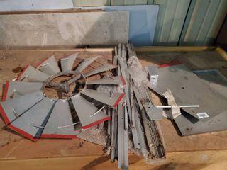 Metal Windmill Parts