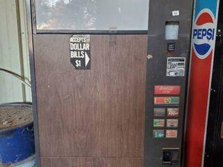 Soda Vending Machine W Coin Acceptor
