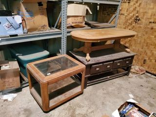 lot of 3 Coffee Tables