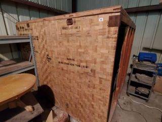 Massive Wooden Crate