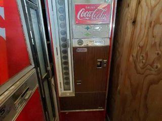 Vintage Vendo Coke Machine