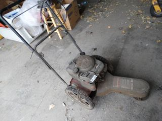 Swisher gas push weed eater