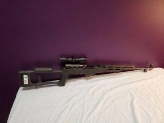 Norinco SKS rifle w  scope
