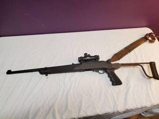 Ruger model 10 22 carbine w  folding stock   scope