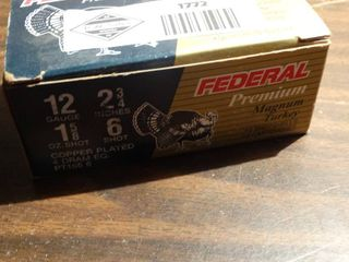Box of 10 Federal Magnum Turkey loads  12 g